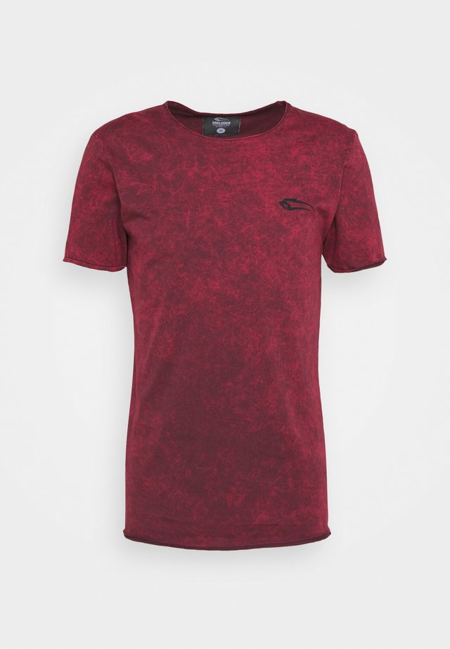MATRIX - T-shirt print - bordeaux