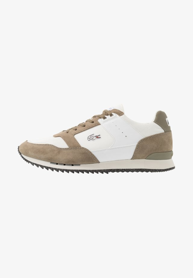 PARTNER PISTE - Baskets basses - khaki/offwhite