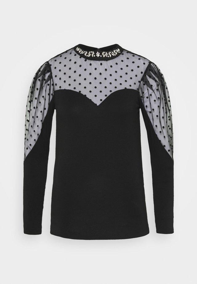 TEPOI - Maglietta a manica lunga - noir