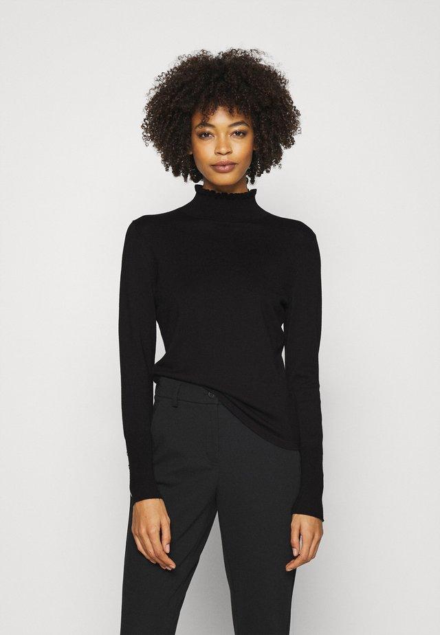 POLLIE - Sweter - black