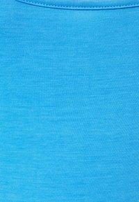 South Beach Petite - SUSTAINABLE SQUARE NECK MINI DRESS - Jersey dress - dark pastel light blue - 2