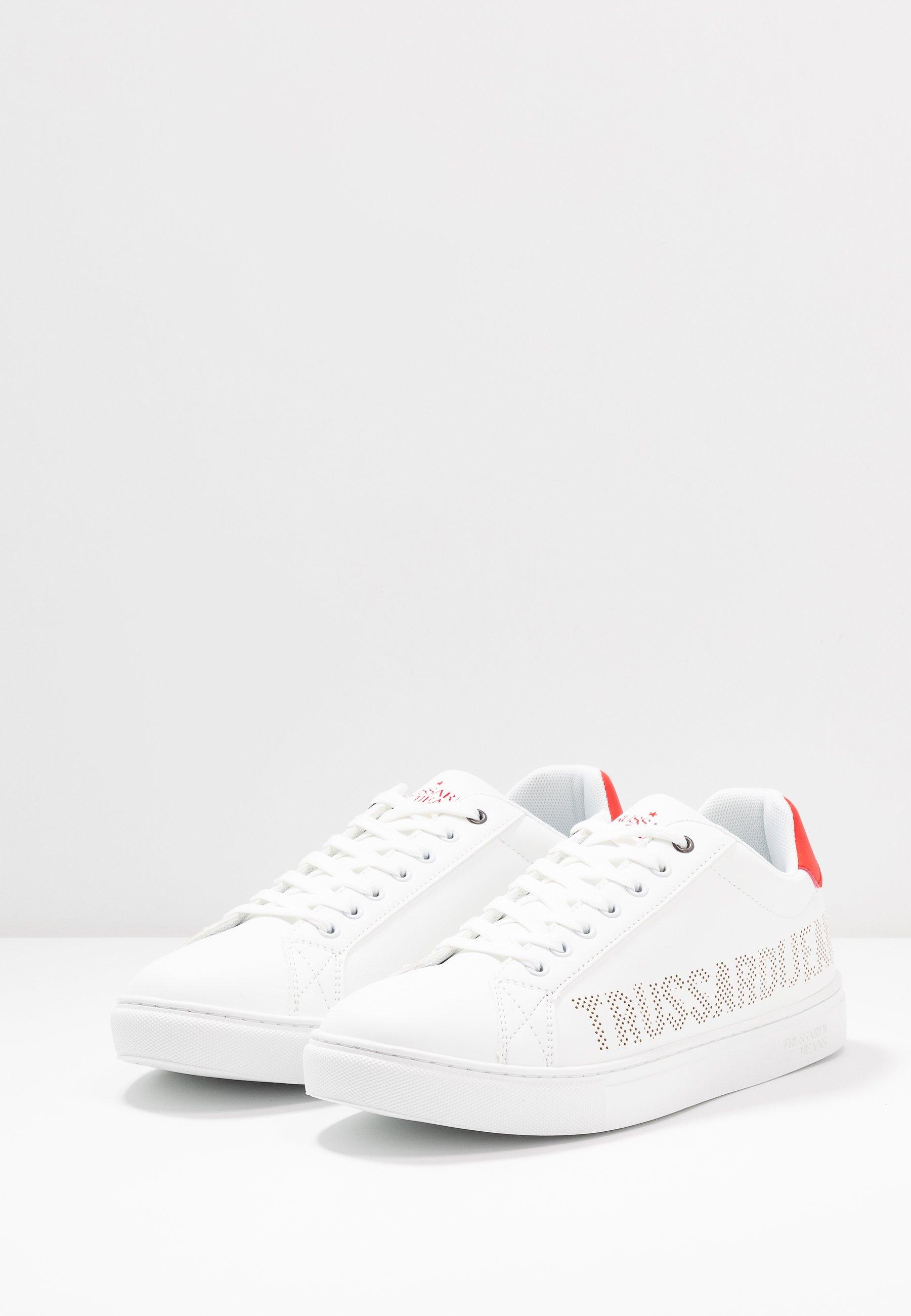 Trussardi Jeans Joggesko whitered Zalando.no