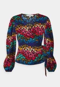 Never Fully Dressed Petite - RAINBOW SWIRL WRAP  - Blouse - multi - 0