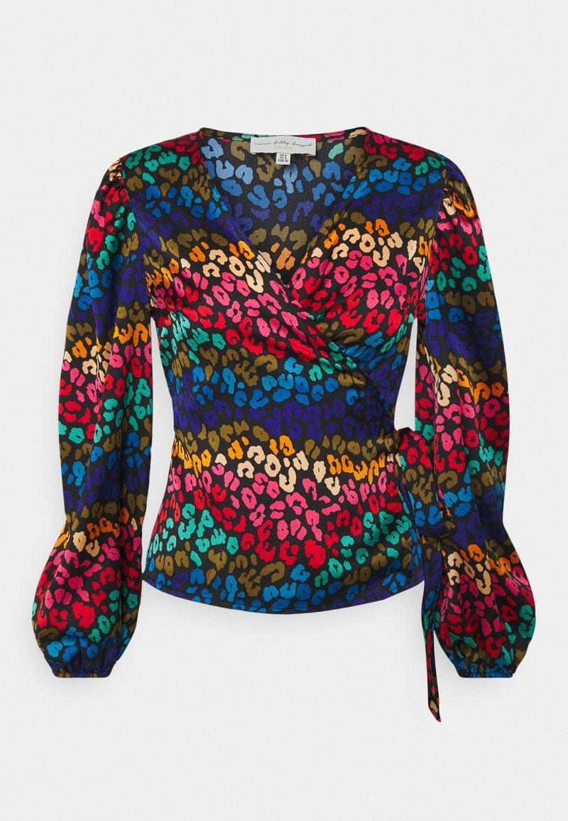Never Fully Dressed Petite - RAINBOW SWIRL WRAP  - Blouse - multi