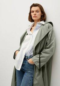 Mango - Waterproof jacket - kaki - 5