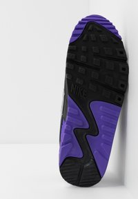 Nike Sportswear - AIR MAX 90 - Sneakers - white/particle grey/light smoke grey/black/hyper grape - 7