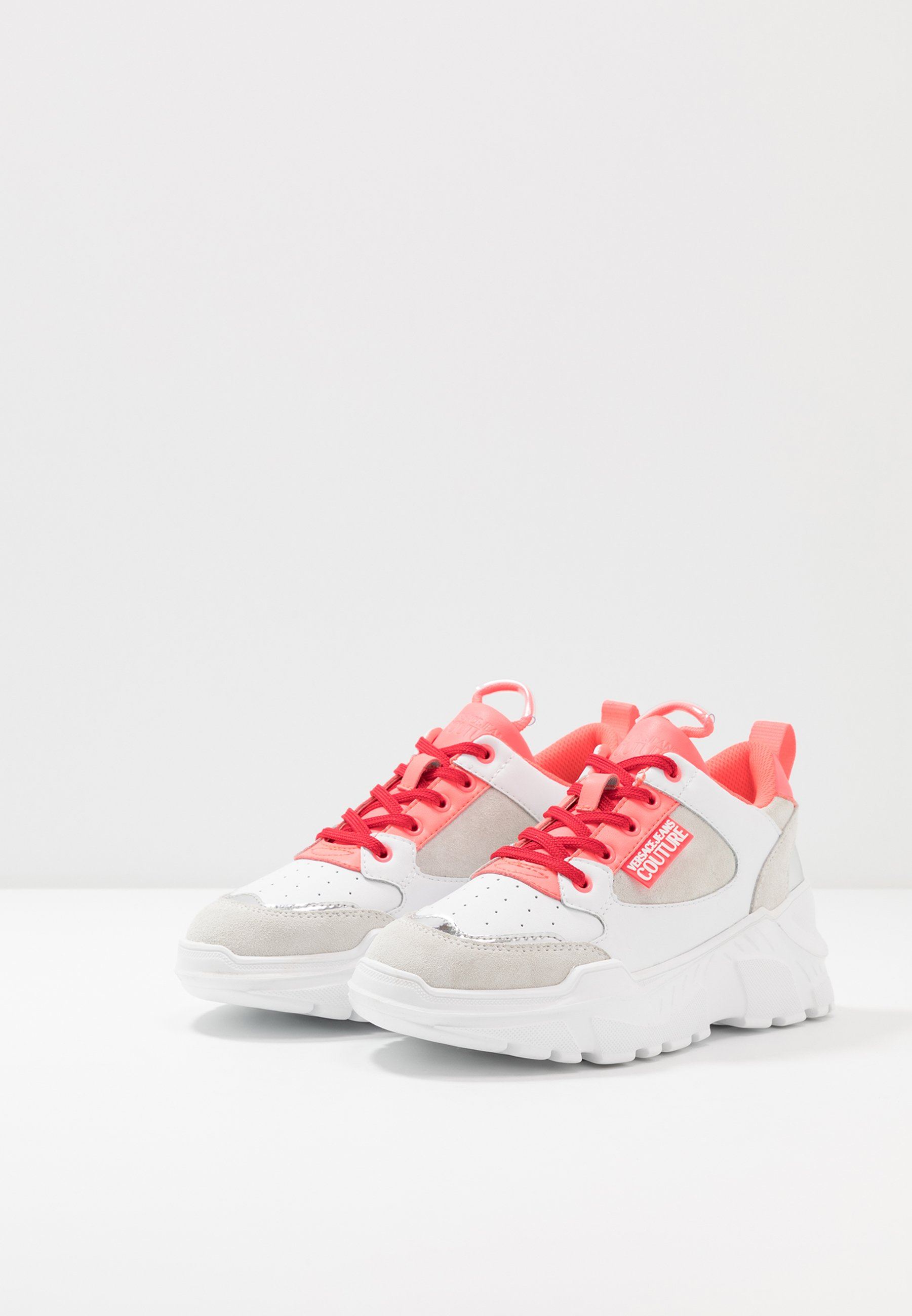 Versace Jeans Couture Sneaker low white/pink/weiß