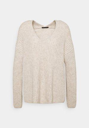 LINNAS - Sweter - braun