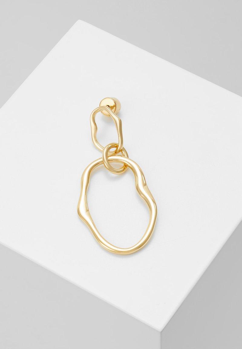 Maria Black - POND EARRING SINGLE - Earrings - gold-coloured