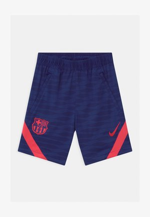 FC BARCELONA UNISEX - Sports shorts - deep royal blue/light fusion red