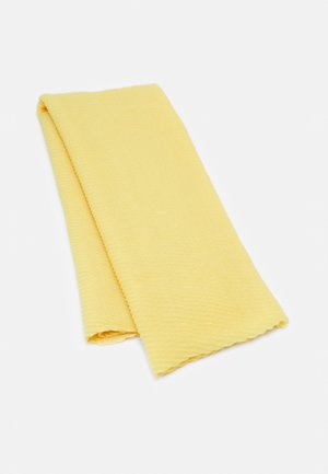 SOLID PLEATED - Scarf - yellow