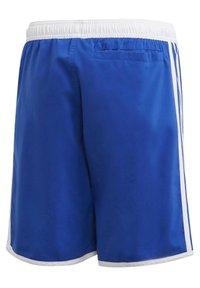 adidas Performance - 3 STRIPES PRIMEGREEN REGULAR SWIM SHORTS - Swimming shorts - blue - 1