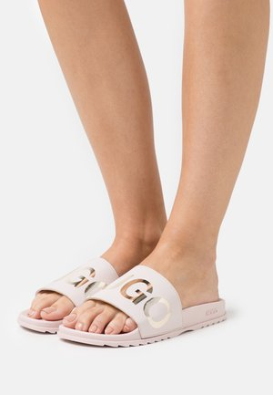 TIME OUT - Pantolette flach - medium pink