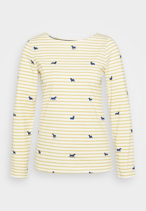 HARBOUR PRINT - Topper langermet - off-white