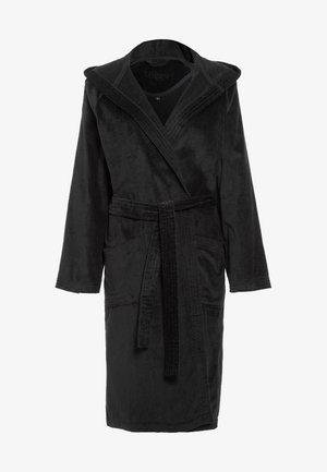 TEXAS - Dressing gown - schwarz
