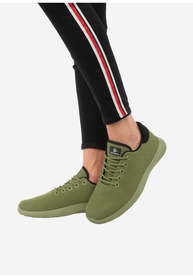 MERINO - Sneakers laag - kaki