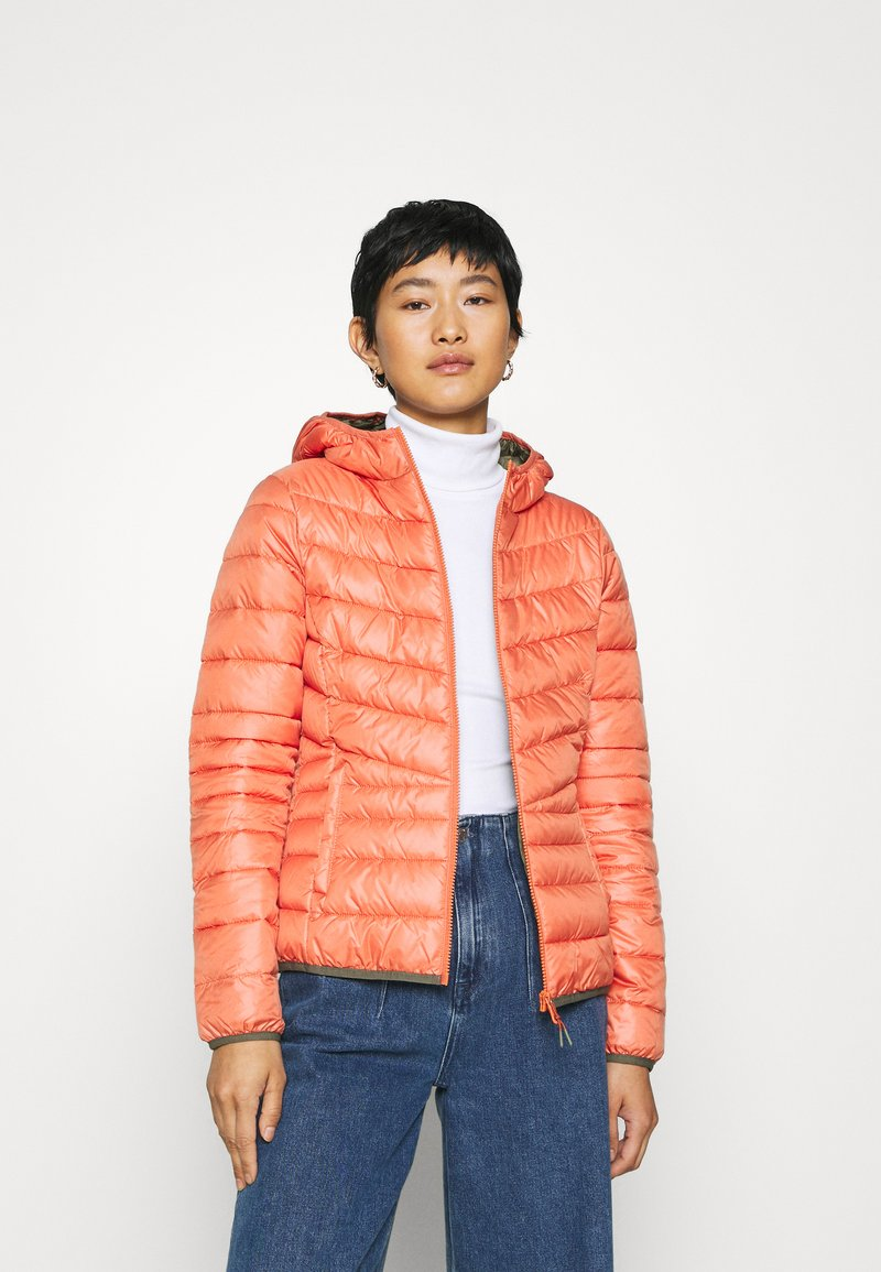 TOM TAILOR DENIM - LIGHT PADDED JACKET - Lett jakke - burnt coral