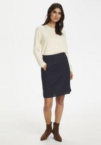 Part Two - RHAPSODYPW  - Mini skirt - dark navy - 1