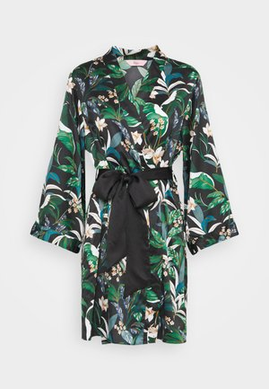 LILIA FLORAL ROBE - Dressing gown - multicoloured