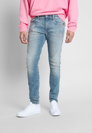 REVEND SKINNY - Jeans Skinny Fit - heavy elto pure / vintage carolina blue restored