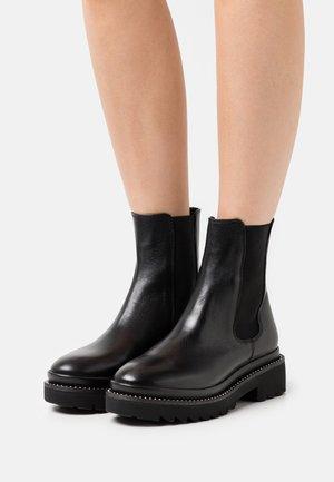 HENNA - Platform ankle boots - black
