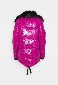 River Island - Winter jacket - dark pink - 2