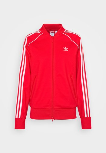 TRACKTOP - Giubbotto Bomber - red