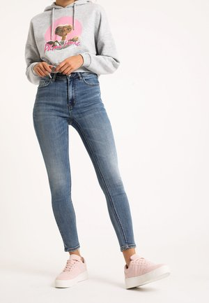 Skinny džíny - denimblau
