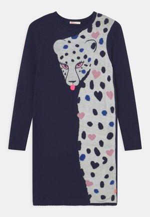 DRESS - Jumper dress - indigo blue
