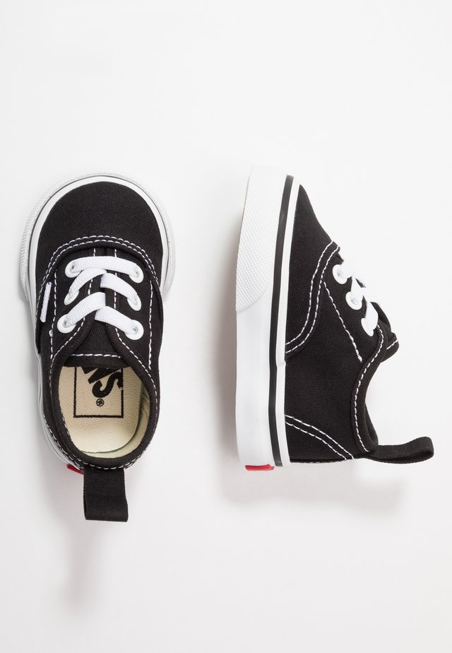 AUTHENTIC ELASTIC LACE - Instappers - black/true white