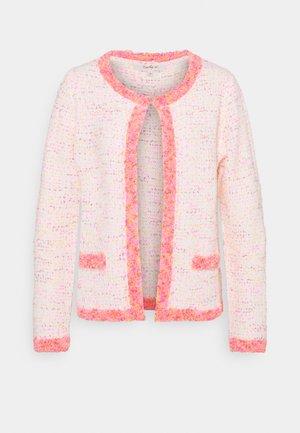 JAGUAR CARDIGAN - Neuletakki - pink