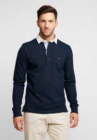 Tommy Hilfiger - ICONIC RUGBY - Piké - blue - 0