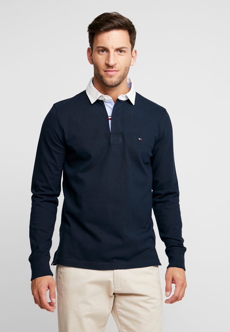 Tommy Hilfiger - ICONIC RUGBY - Piké - blue