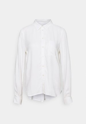 BLOUSE BUTTON THROUGH - Camisa - off-white