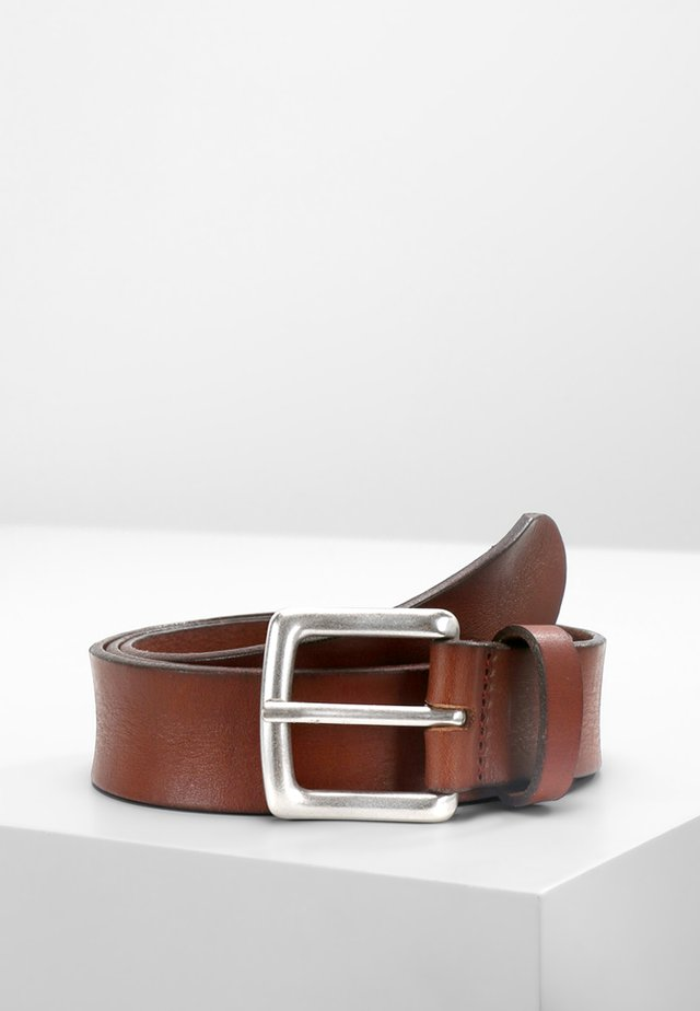 GENTS - Belt - cognac