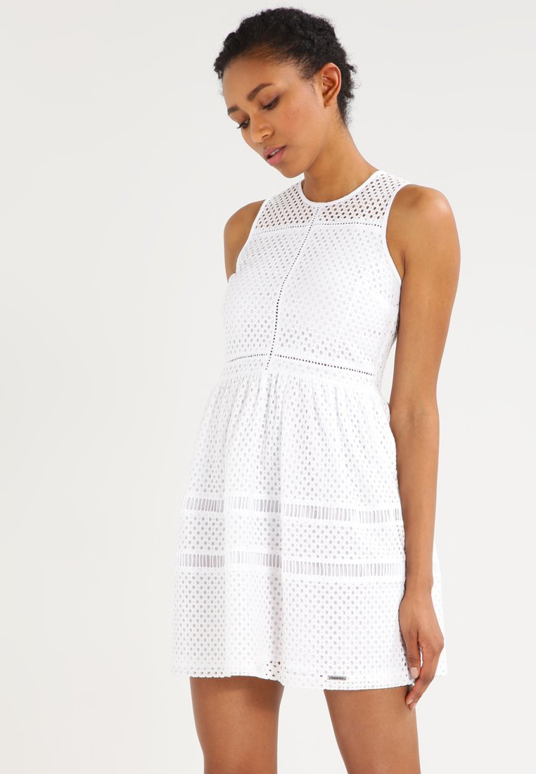 Superdry - Vestito estivo - optic white