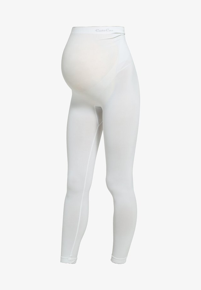 ILLUSION - Legging - ivory