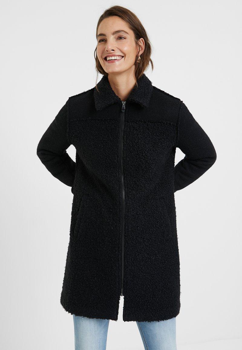 Desigual - Manteau classique - black