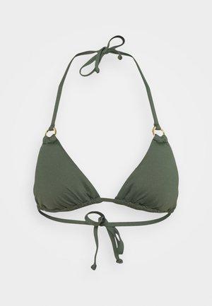 LAS SIMPLE - Bikini top - oliv