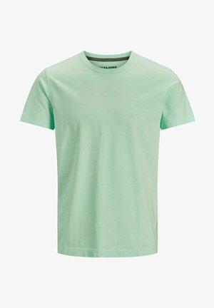 T-shirt basic - bleached aqua
