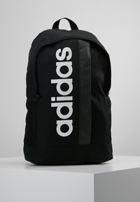 adidas Performance - ESSENTIALS LINEAR SPORT BACKPACK - Batoh - black/black/white - 0