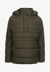 PULL OVER PUFFER  - Giacca invernale - darkolive