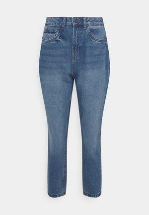NMISABEL MOM JEANS  - Jeans Skinny Fit - medium blue denim