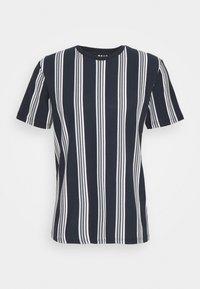 LUKE - Print T-shirt - navy