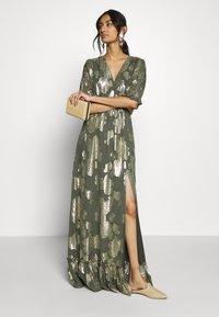 We are Kindred - ADELE MAXI DRESS - Společenské šaty - olive rose - 1