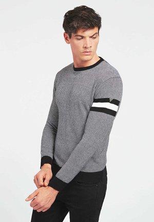 Sweter - mehrfarbig schwarz