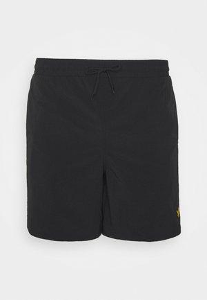 PLAIN SWIM SHORT - Swimming shorts - jet black