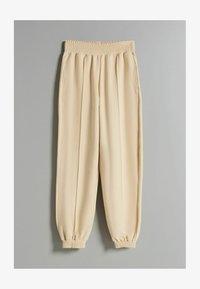 Bershka - Pantaloni sportivi - sand - 4