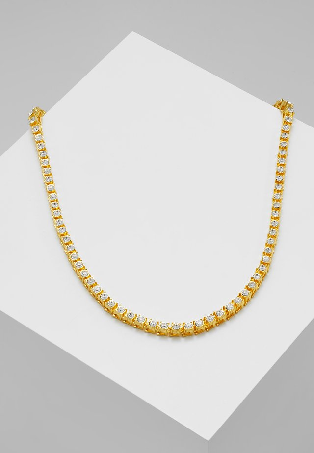 NECKLACE WITH STONES - Collana - gold-coloured