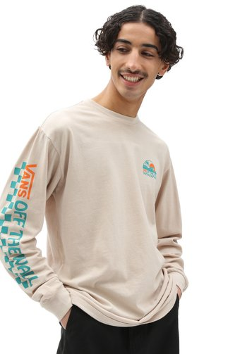 MN BARRELED LS - Long sleeved top - oatmeal